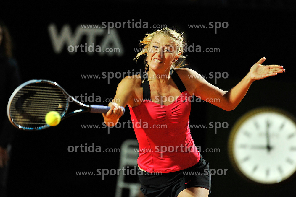 17.05.2012, Foro Italico, Rom, ITA, WTA, Internationali BNL d Italia, im Bild Maria Sharapova Russia // during the WTA, Internationali BNL d Italia at the Foro Italico, Rome, Italy on 2012/05/17. EXPA Pictures © 2012, PhotoCredit: EXPA/ Insidefoto/ Antonietta Baldassarre..***** ATTENTION - for AUT, SLO, CRO, SRB, SUI and SWE only *****