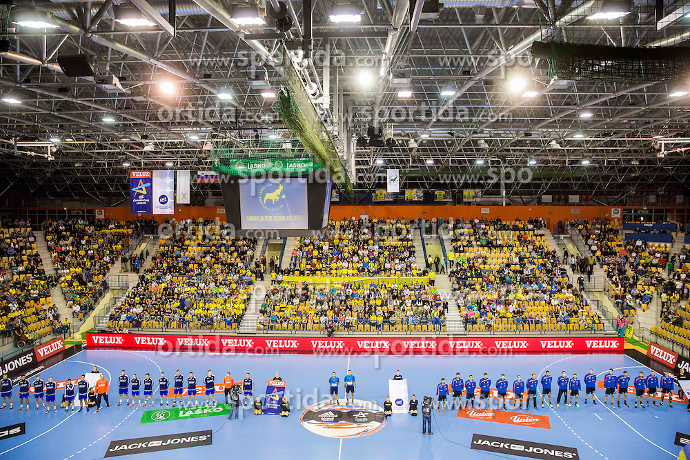 Arena Zlatorog during handball match between RK Celje Pivovarna Lasko and RK Zagreb in Round #2 of Group Phase of EHF Champions League 2015/16, on September 26, 2015 in Arena Zlatorog, Celje, Slovenia. Photo by Vid Ponikvar / Sportida