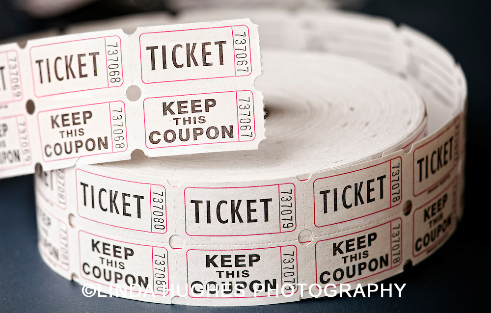 Roll of admission tickets