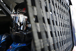 September 14, 2018 - Las Vegas, Nevada, United States of America - Darrell Wallace, Jr (43) straps into his car to practice for the South Point 400 at Las Vegas Motor Speedway in Las Vegas, Nevada. (Credit Image: © Chris Owens Asp Inc/ASP via ZUMA Wire)