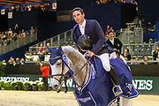 Mark McAuley on Miebello during the Equestrian FEI World Cup Jumping Lyon 2017, CSI5 Longines Grand Prix on November 4, 2017 at Eurexpo Lyon in Chassieu, near Lyon, France - Photo Romain Biard / Isports / ProSportsImages / DPPI