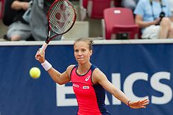 Viktorija Golubic (Switzerland) at the 2017 WTA Ericsson Open in Båstad, Sweden, July 27, 2017. Photo Credit: Katja Boll/EVENTMEDIA.
