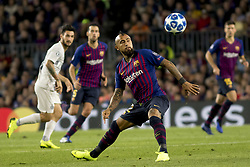 October 24, 2018 - Barcelona, Catalonia, Spain - Arturo Vidal during the UEFA Champion Leage match between FC Barcelona and Internazionale Milano at Camp Nou Stadium in Barcelona, Catalonia, Spain on October 24, 2018  (Credit Image: © Miquel Llop/NurPhoto via ZUMA Press)