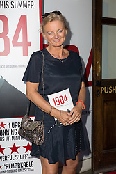 © Licensed to London News Pictures. 18/06/2015. London, UK. Alice Beer arrives at the press night for 1984 at the Playhouse Theatre, Northumberland Avenue in London tonight. Photo credit : Vickie Flores/LNP