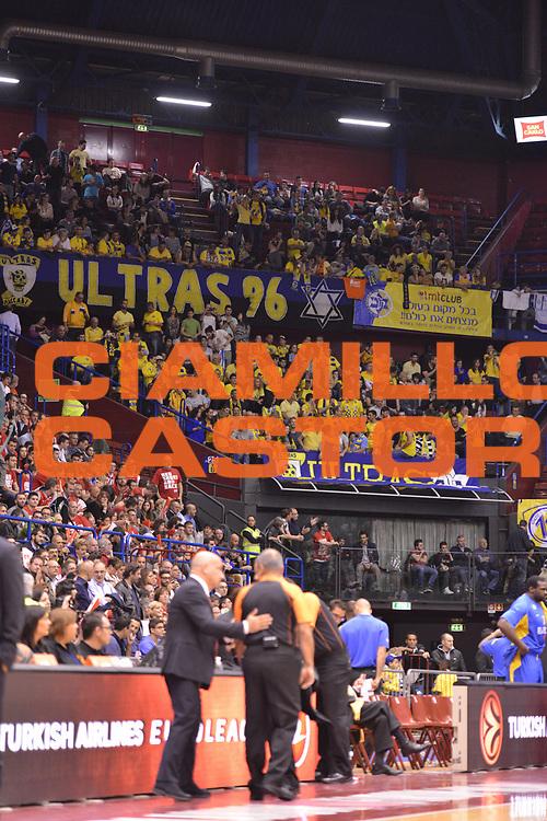 DESCRIZIONE : Milano ,EA7 EMPORIO ARMANI OLIMPIA MILANO - MACCABI ELECTRA TEL-AVIV <br /> Euroleague Playoffs - Game 2<br /> GIOCATORE : TIFOSI<br /> CATEGORIA : TIFOSI COMPOSIZIONE&nbsp;<br /> SQUADRA : MACCABI ELECTRA TEL-AVIV<br /> EVENTO : Campionato Euroleague Playoffs<br /> GARA : EA7 EMPORIO ARMANI OLIMPIA MILANO - MACCABI ELECTRA TEL-AVIV <br /> Euroleague Playoffs - Game 2 <br /> DATA : 18/04/14 <br /> SPORT : Pallacanestro <br /> AUTORE : Agenzia Ciamillo-Castoria/Luca Sonzogni <br /> Galleria : Euroleague Playoffs