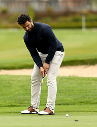 Marco Mama of Worcester Warriors takes part in the charity golf day in aid of Acorns Children's Hospice - Mandatory by-line: Robbie Stephenson/JMP - 20/04/2017 - RUGBY - Astbury Hall - Bridgnorth, England - Worcester Warriors Charity Golf Day