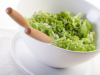 Cose - up of lettuce in bowl