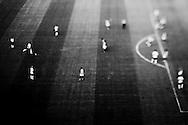 SÃO PAULO, SP, BRASIL, 03/05/2009:  Corinthians empatou em 1 a 1 com o Santos na final do Campeonato Paulista de Futebol e foi o campeao invicto do torneio.  Foto com efeito de giro optico obtido no instante da captura.  (foto de Caio Guatelli)