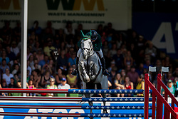Lennon Dermott, IRL, Gelvins Touch<br /> Spruce Meadows Masters - Calgary 2019<br /> © Hippo Foto - Dirk Caremans<br />  07/09/2019