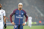 Kylian Mbappe (PSG) during the French Championship Ligue 1 football match between Paris Saint-Germain and SM Caen on December 20, 2017 at Parc des Princes stadium in Paris, France - Photo Stephane Allaman / ProSportsImages / DPPI