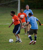 Annual USA versus Mexico soccer match prior to the opening of the Sandwich Fair.   Karen Bobotas/for the Laconia Daily Sun