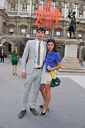 BIP LING and DYLAN GARNER at the Royal Academy of Arts Summer Exhibition Preview Party at Burlington House, Piccadilly, London on 2nd June 2011.