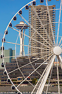 Great Wheel and Space Needle