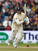 Jason Roy of England batting during the International Test Match 2019, fourth test, day three match between England and Australia at Old Trafford, Manchester, England on 6 September 2019.