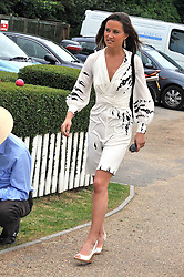 PIPPA MIDDLETON at a charity polo match organised by Jaeger Le Coultre was held at Ham Polo Club, Richmond, Surrey on 12th June 2009.