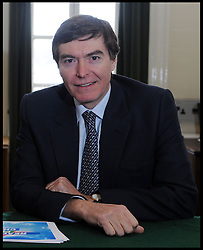 Leader of the Conservative Party David Cameron with Philip Dunne, Member of Parliament for Ludlow in his office in Norman Shaw South, January 5, 2010. Photo By Andrew Parsons / i-Images.