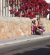 Exclusive<br /> Billie Faiers on holiday pictured with her daughter Nelly<br /> ©Exclusivepix Media
