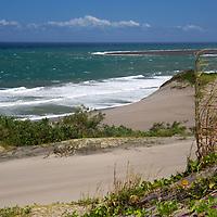 Oceania, Fiji, Viti Levu. Sigatoka Sand Dunes, Fiji's first National Park on the island of Viti Levu.