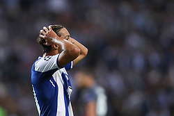 September 13, 2017 - Porto, Porto, Portugal - Porto's Spanish midfielder Oliver Torres reacts during the FC Porto v Besiktas - UEFA Champions League Group G round one match at Dragao Stadium on September 13, 2017 in Porto, Portugal. (Credit Image: © Dpi/NurPhoto via ZUMA Press)