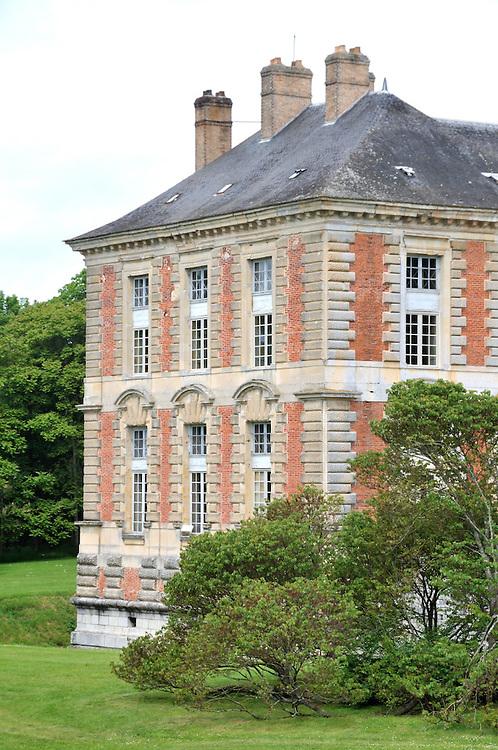 Chateau de Vallery, architecte Pierre Lescot.