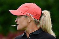 Portrait of Suzann Pettersen (Nor) during the first round of LPGA Evian Championship 2014, day 4, at Evian Resort Golf Club, in Evian-Les-Bains, France, on September 11, 2014. Photo Philippe Millereau / KMSP / DPPI