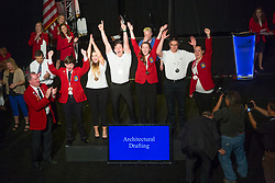 The 2017 SkillsUSA National Leadership and Skills Conference Competition Medalists were announced Friday, June 23, 2017 at Freedom Hall in Louisville. <br /> <br /> Architectural Drafting<br /> <br /> 	Jennifer Sprow<br />   High School	 Stafford Senior High School<br />   Gold	 Falmouth, VA<br /> Architectural Drafting	Ian Kelly<br />   High School	 Hampton High School<br />   Silver	 Hampton, TN<br /> Architectural Drafting	Connor Joyce<br />   High School	 Union Grove High School<br />   Bronze	 McDonough, GA<br /> Architectural Drafting	Hunter Huffman<br />   College	 Utah Valley University<br />   Gold	 Orem, UT<br /> Architectural Drafting	Ellen Reichert<br />   College	 WITC Rice Lake<br />   Silver	 Rice Lake, WI<br /> Architectural Drafting	Galina Alekseeva<br />   College	 Calhoun Community College<br />   Bronze	 Decatur, AL