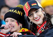 German fans during the 2010 FIFA World Cup South Africa Group D match between Ghana and Germany at Soccer City Stadium on June 23, 2010 in Johannesburg, South Africa.