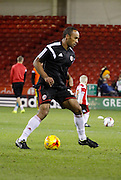 Former Sheffield Wednesday player Chris O'Grady warms up for Sheffield Utd during the Sky Bet League 1 match between Sheffield Utd and Milton Keynes Dons at Bramall Lane, Sheffield, England on 2 December 2014.