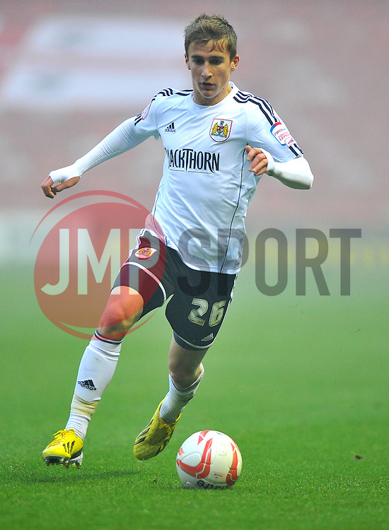 Bristol City's Joe Bryan - Photo mandatory by-line: Joe Meredith/JMP  - Tel: Mobile:07966 386802 24/11/2012 - Middlesbrough v Bristol City - SPORT - FOOTBALL - Championship -  Middlesbrough  - River Side Stadium