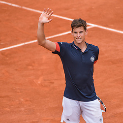 Dominic Thiem during Day 2 of Roland Garros, the French Open 2018 on May 28, 2018 in Paris, France. (Photo by Baptiste Fernandez/Icon Sport)