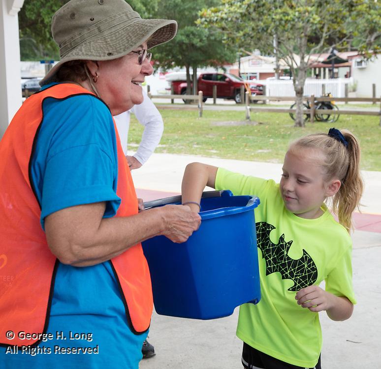 Trash Bash sponsored by Keep Abita Beautiful in Abita Springs, Louisiana