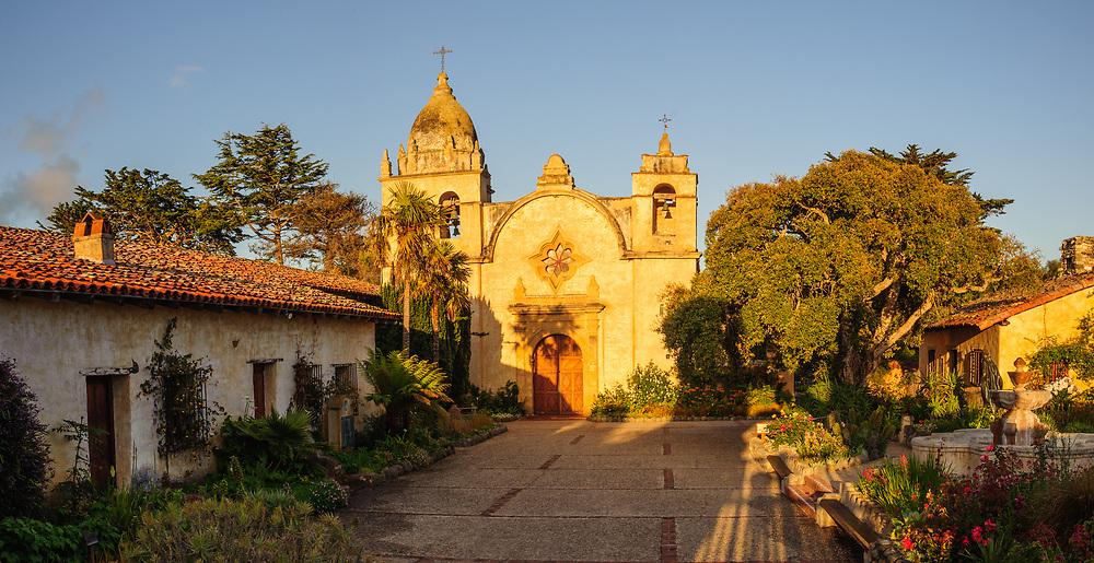 Mission San Carlos Borroméo del río Carmelo, Spanish missions in Carmel-by-the-Sea, California