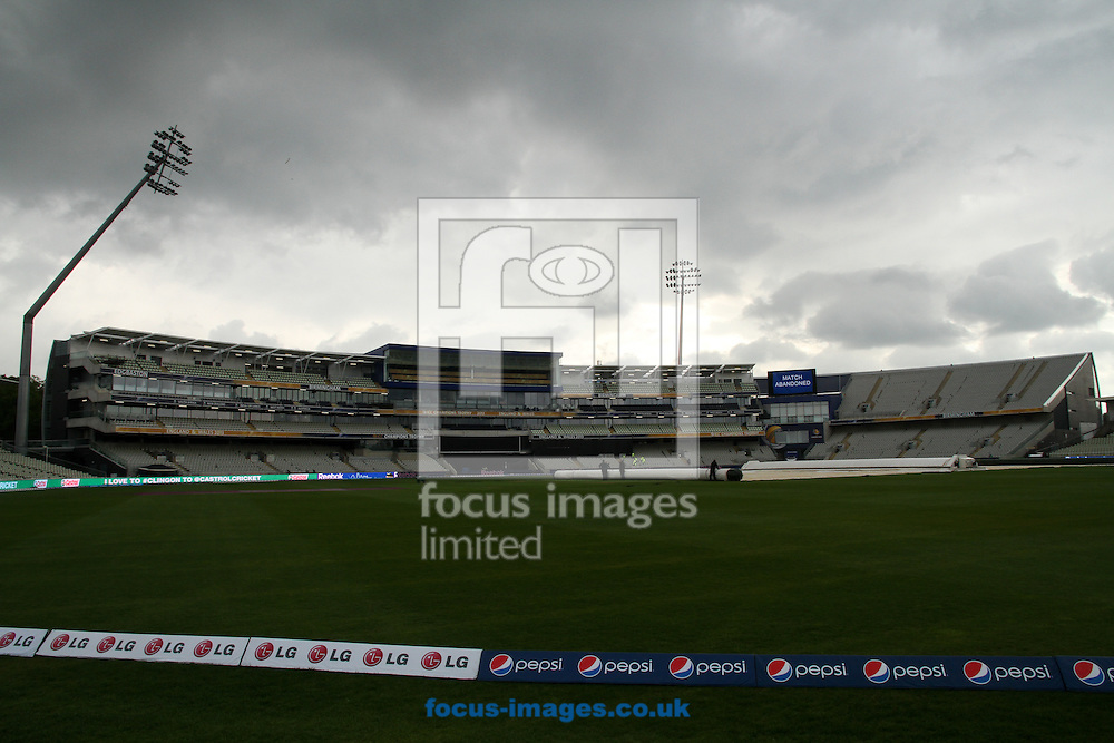 Picture by Tom Smith/Focus Images Ltd 07545141164<br /> 30/05/2013<br /> Edgbaston Cricket Groubd during the ICC Champions Trophy warm up match at Edgbaston, Birmingham.