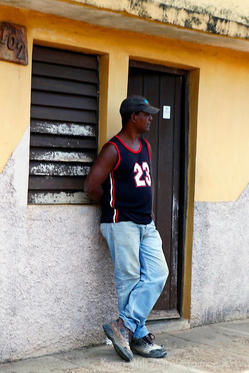 Central America, Cuba, Remedios. Cuban man of Remedios.