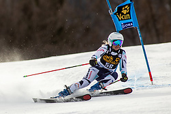 KMOCHOVA Tereza of Czech Republic competes during the Ladies' GiantSlalom at 56th Golden Fox event at Audi FIS Ski World Cup 2019/20, on February 15, 2020 in Podkoren, Kranjska Gora, Slovenia. Photo by Matic Ritonja / Sportida
