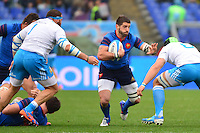 Sebastien TILLOUS BORDE - 15.03.2015 - Rugby - Italie / France - Tournoi des VI Nations -Rome<br /> Photo : David Winter / Icon Sport