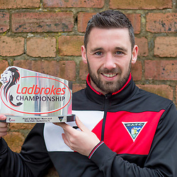 Ladbrokes SPFL Championship Player of the Month March, Dunfermline,  10 April 2018