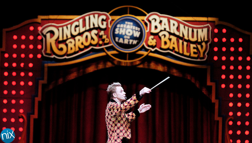 The Ringling Bros. and Barnum & Bailey circus Friday, May 23 at the Cabarrus Arena & Events Center.