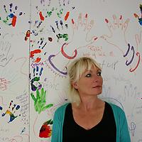 Michelle Bradley at Art & Soul ,KIlrush.<br /> <br /> Photograph by Eamon Ward