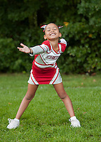 Laconia Chiefs Cheerleading squad portraits