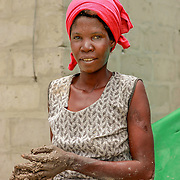 Woman in Okavango Delta.