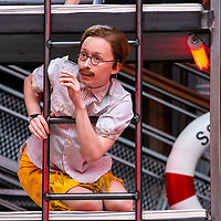 Twelfth Night by William Shakespeare;<br /> Directed by Emma Rice;<br /> Katy Owen as Malvolio;<br /> Shakespeare's Globe;<br /> London, UK;<br /> 23 May 2017<br />