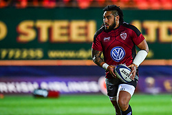 Toulon's Ma'a Nonu during the pre match warm up<br /> <br /> Photographer Craig Thomas/Replay Images<br /> <br /> European Rugby Champions Cup Round 5 - Scarlets v Toulon - Saturday 20th January 2018 - Parc Y Scarlets - Llanelli<br /> <br /> World Copyright © Replay Images . All rights reserved. info@replayimages.co.uk - http://replayimages.co.uk