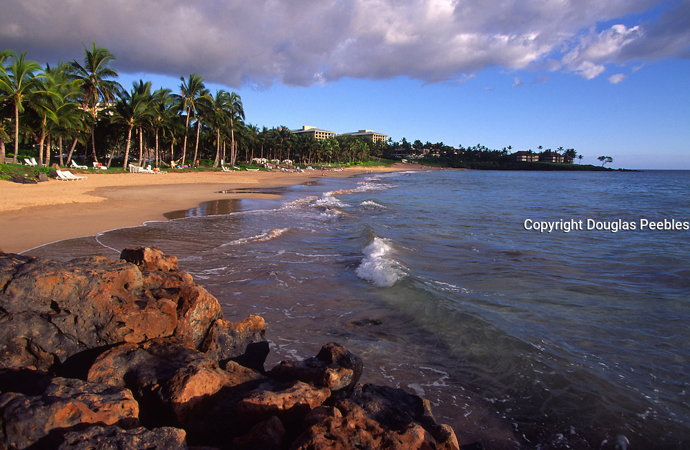 Wailea Beach, Wailea, Maui, Hawaii, USA<br />