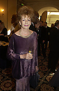 Edna O'Brien. The South Bank Show Awards. The10th annual awards rewarding excellence in arts, The Savoy , London.January 27 2006. ONE TIME USE ONLY - DO NOT ARCHIVE  © Copyright Photograph by Dafydd Jones 66 Stockwell Park Rd. London SW9 0DA Tel 020 7733 0108 www.dafjones.com