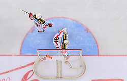 21.01.2011, Arena Ice Fever, Zagreb, CRO, EBEL, KHL Medvescak Zagreb vs EC KAC, im Bild Übersicht von der Neuen Eishalle in Zagreb, Deckenkamera. EXPA Pictures © 2010, PhotoCredit: EXPA/ nph/ Pixsell +++++ ATTENTION - OUT OF GERAMANY / GER, CROATIA / CRO, SWEDEN / SWE +++++