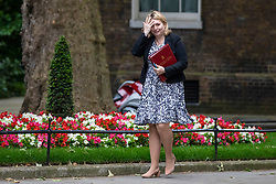 © Licensed to London News Pictures. 05/06/2018. London, UK. Secretary of State for Northern Ireland Karen Bradley arrives on Downing Street for the Cabinet meeting. Photo credit: Rob Pinney/LNP