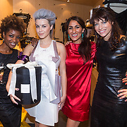 NLD/Amsterdam/20130905 - Lancering lingerielijn Pretty Wild, Sylvana Simons, Victoria Koblenko, Firouze Akhbari en Ellen ten Damme