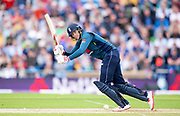 Picture by Allan McKenzie/SWpix.com - 19/05/2019 - Sport - Cricket - 5th Royal London One Day International - England v Pakistan - Emerald Headingley Cricket Ground, Leeds, England - England's Joe Root hits out on his way to 84 against Pakistan.
