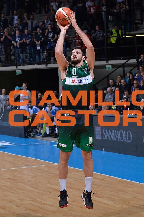 Andrea Zerini<br /> Red October Pallacanestro Cantu - Sidigas Scandone Avellino<br /> Lega Basket Serie A 2016/2017<br /> Desio, 12/12/2016<br /> Foto Ciamillo-Castoria